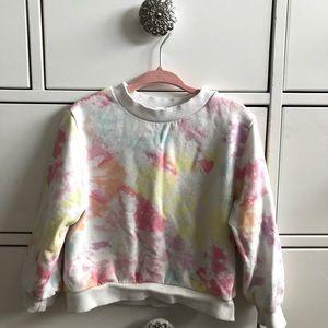 Tie dye sweater 2T